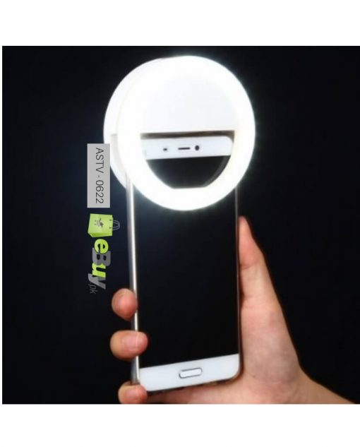 Selfie Ring With Smart LED Light RK-12 At Best Price In Pakistan