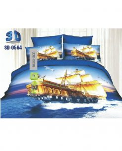 Ship Anchor & Wheel Design 3D Bed Sheets At Best Price In Pakistan