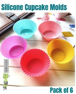 Silicone Baking Cups Cupcake Molds at Best Price In Pakistan
