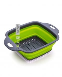Silicone Folding Square Drain Basket At Best Price In Pakistan