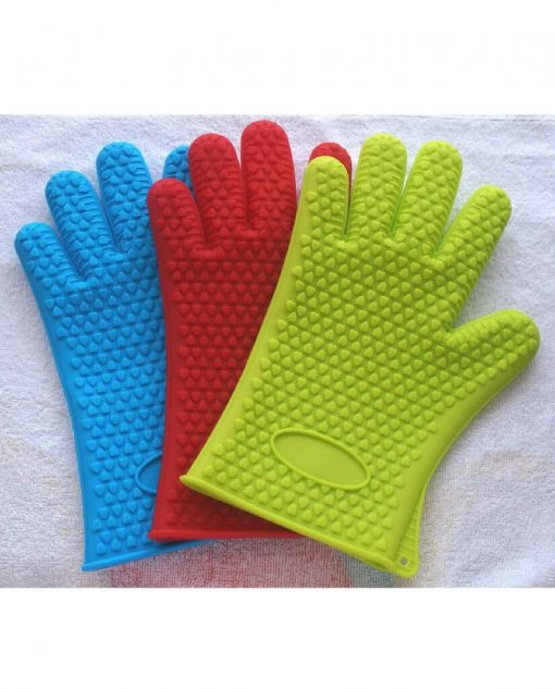 Heat Resistant Silicone Gloves At Best Price in Pakistan