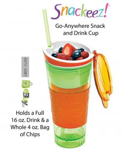 Snackeez 2 in 1 Snack & Drink Cup Online in Pakistan