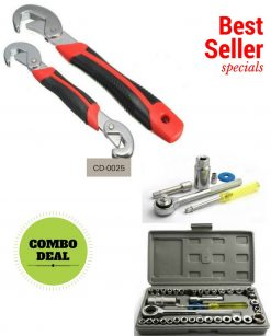 Snap n Grip & Wrench Tool Kit Online in Pakistan