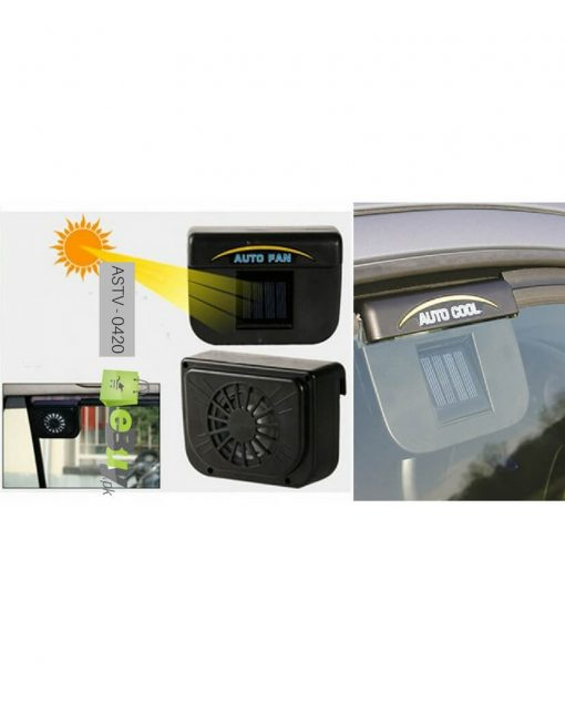 Solar Powered Car Window Cooling & Vent Fan Price in Pakistan