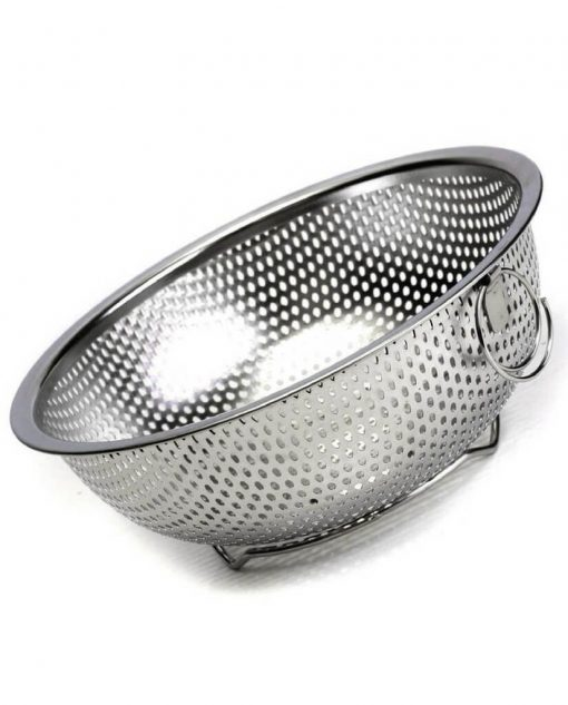 Stainless Steel Rice Strainer At Best Price in Pakistan