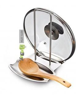 Stainless Steel Spoon Rest & Pot Lid Holder At Best price In Pakistan
