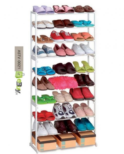Standing Shoe Rack Fits 30 Pairs Online in Pakistan 3
