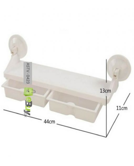 Suction Cup Multifunction Storage Rack in Pakistan