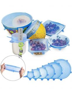 Super Stretch Silicone Lids 6 Pieces At Best Price In Pakistan