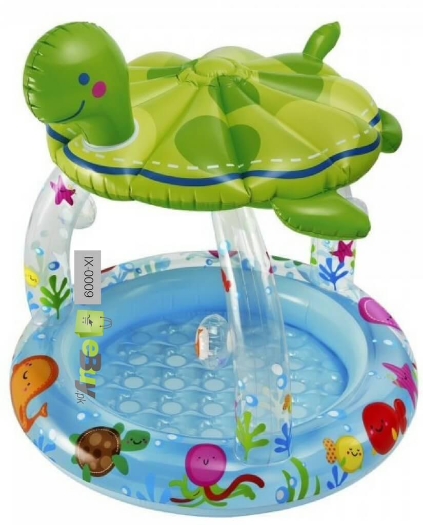 Buy Turtle Shade Inflatable Baby Pool Online In Pakistan Ebuy Pk
