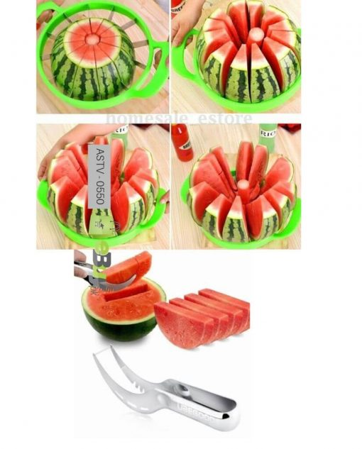 Watermelon Cutter & Watermelon Slicer (Pack Of 2) At Best Price In Pakistan