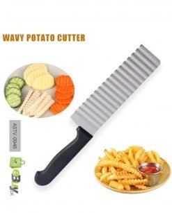 Wavy Fries Cutter Knife Crinkle French Fries Online In Pakistan