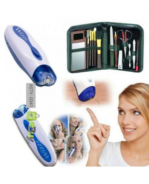 Wizzit Hair Remover With Manicure Set Online in Pakistan