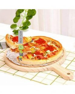Wooden Pizza Serving Tray (9 Inches) At Best Price In Pakistan