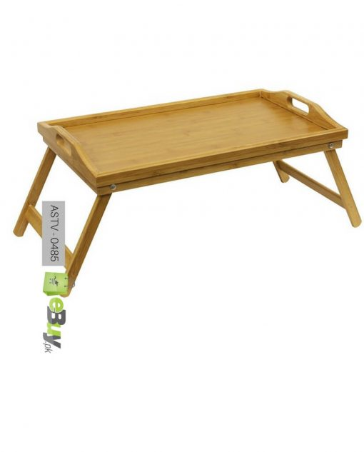 bamboo breakfast folding table try at best price in pakistan 4