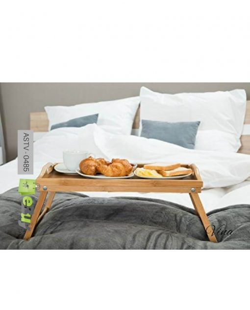 bamboo breakfast folding table try at best price in pakistan 5