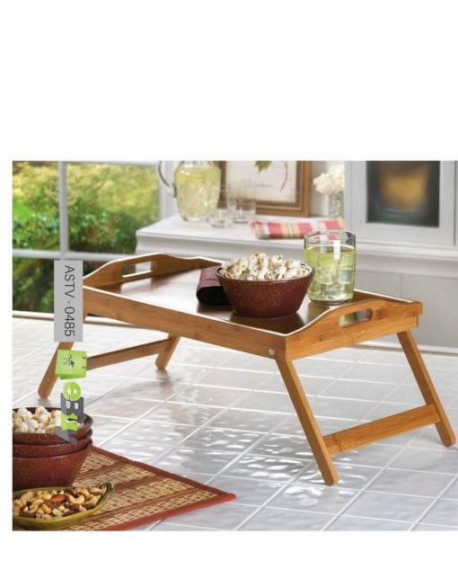bamboo breakfast folding table try at best price in pakistan