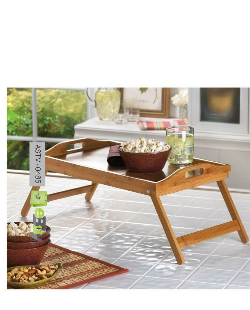 Merveilleux Bamboo Breakfast Folding Table Try At Best Price In Pakistan